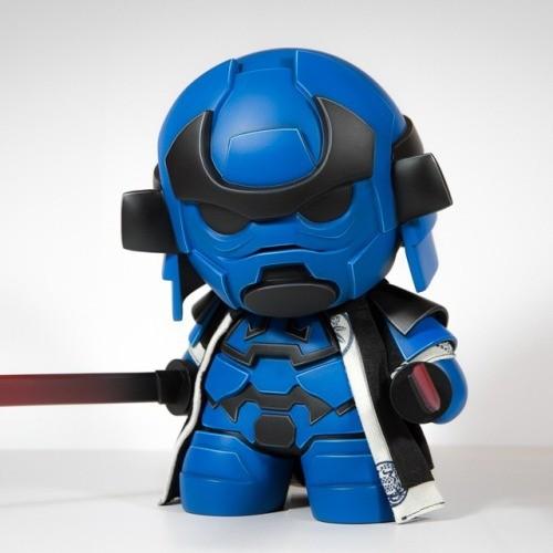 Storm Samurai Cobalt Artmymind 2