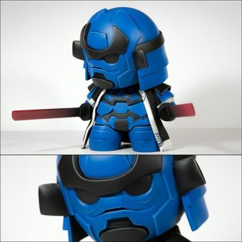Storm Samurai Cobalt Artmymind