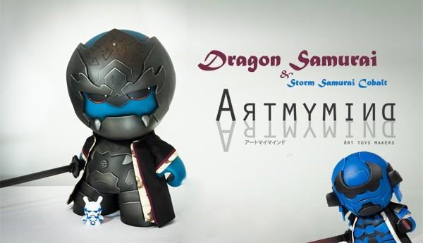 Storm-Samurai-Cobalt-Dragon-Samurai-Artmymind-20-inch-Dunny-TTC-banner
