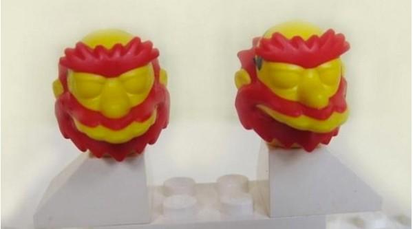Willie MacDougal Lego Minifigure Development