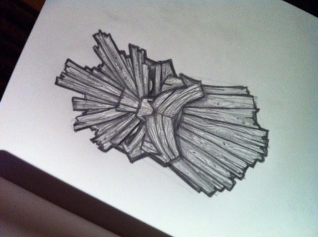 Original scribble
