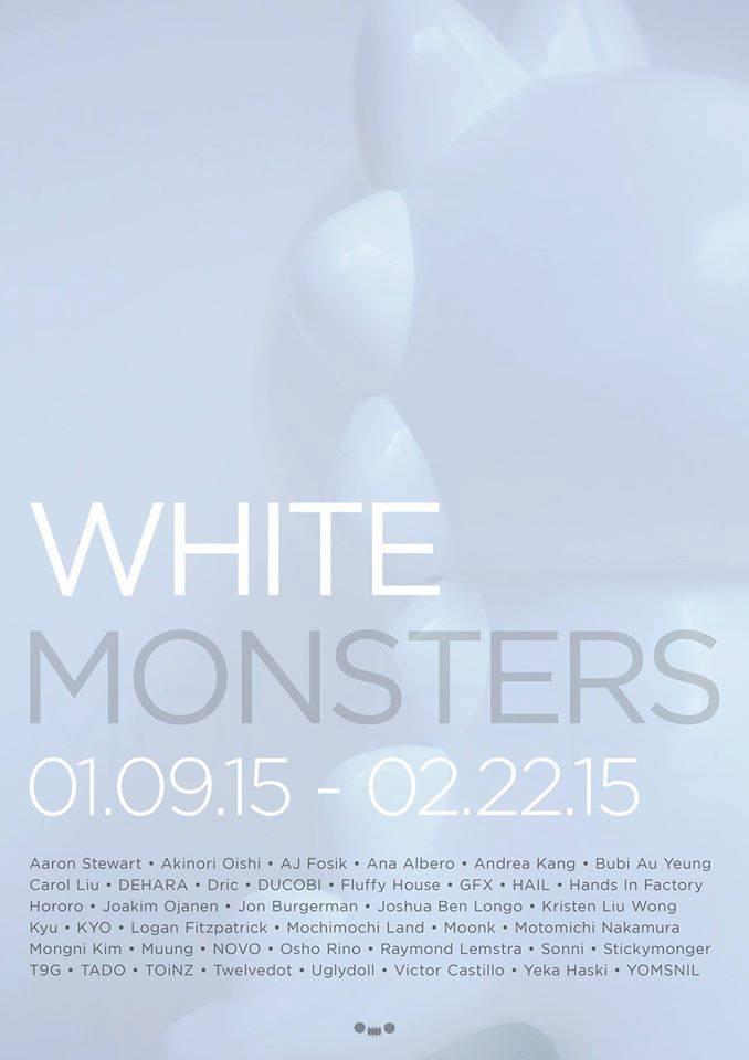 white monsters banner