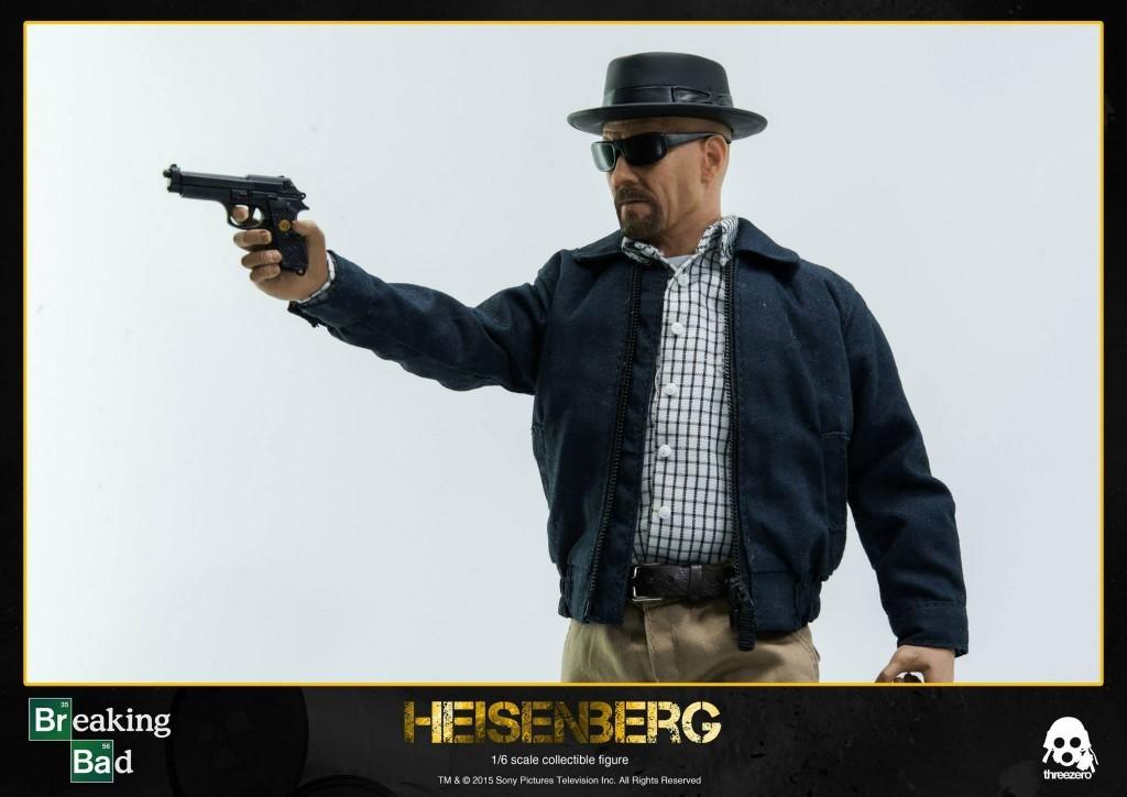 Breaking Bad Heisenberg By Threezero gun