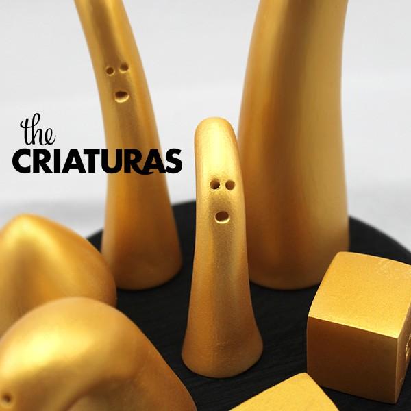 EL JARDÍN DE LAS CRIATURAS BLACK&GOLD EDITION 2 close up