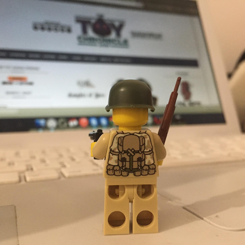 Willy - Custom Modern Brick Warfare Minifig Back