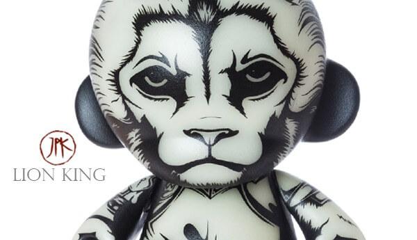 Lion-King-By-Jon-Paul-Kaiser-Kidrobot-Munny-GID