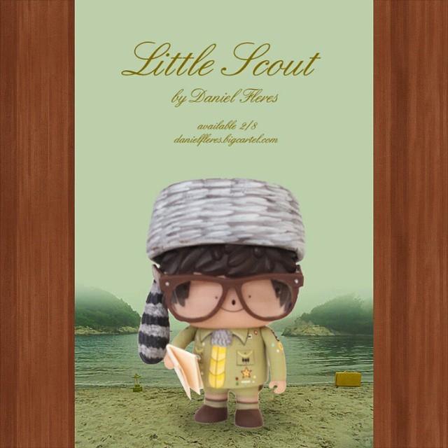 Little scout Daniel Fleres Moon rise Kingdom Treeson Ren poster