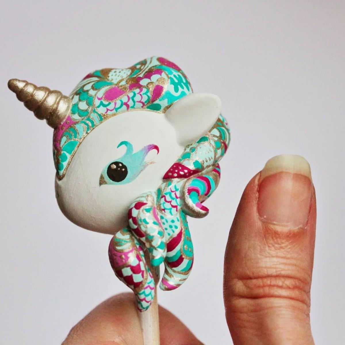 Ooak Tokidoki Unicorno By Mijbil Creatures The Toy Chronicle
