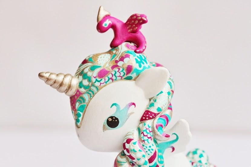 OOAK Tokidoki Unicorno by Mijbil Creatures dragon