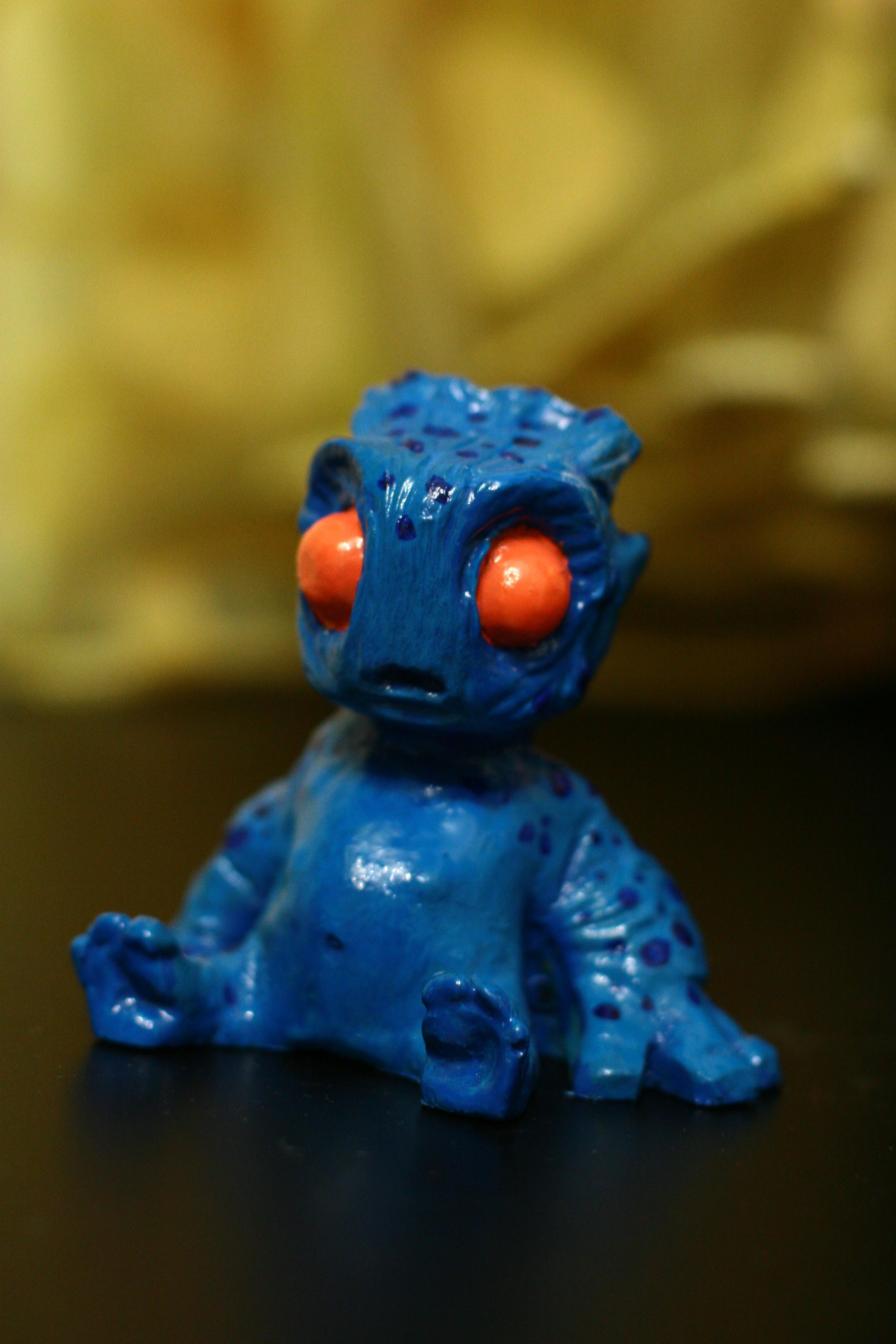 SAG Toys Little Monster Figures blue