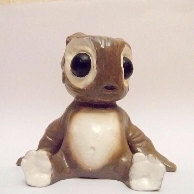 SAG Toys Little Monster Figures brown