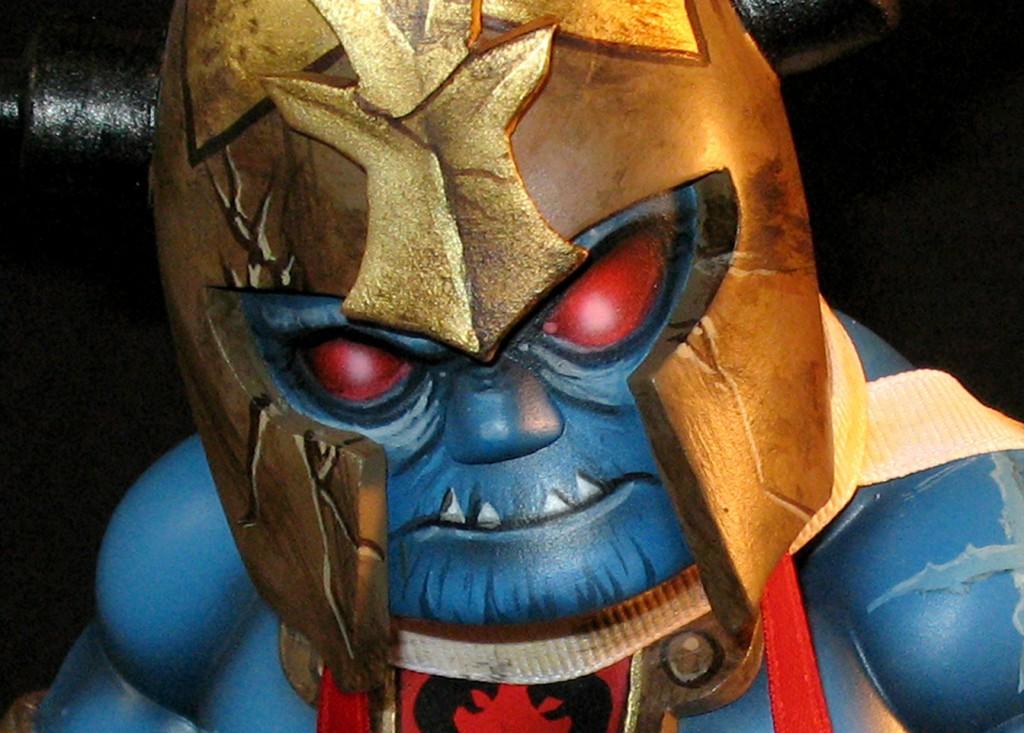 Thundercats Mumm-Ra! By Rask Opticon close up head