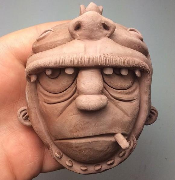 gorillaz m headsculpt