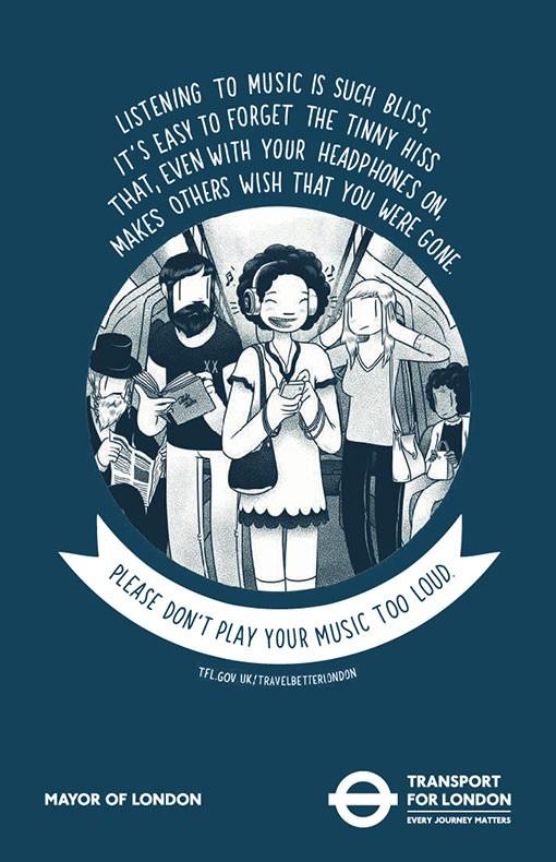 mcbess TfL Tube Poster