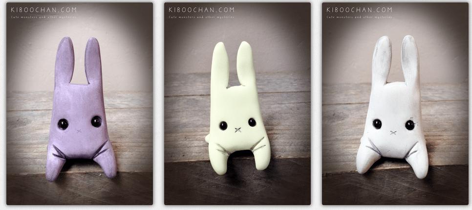 Cute weird rabbits By Kiboochan 3