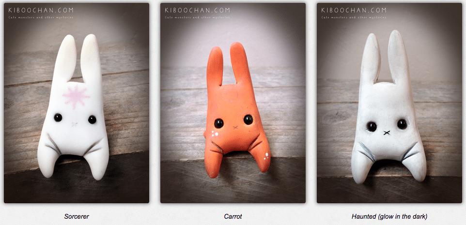 Cute weird rabbits By Kiboochan 4