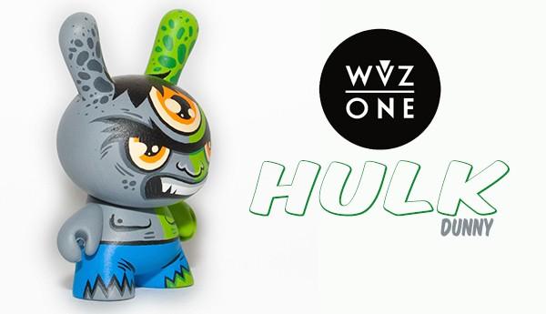 Hulk-Dunny-WuzOne-Kidrobot-TTC-banner-