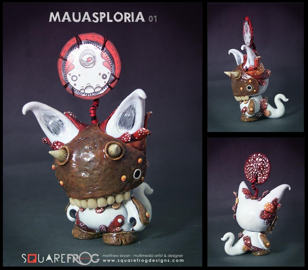 MUNNY mausploria Squarefrog design
