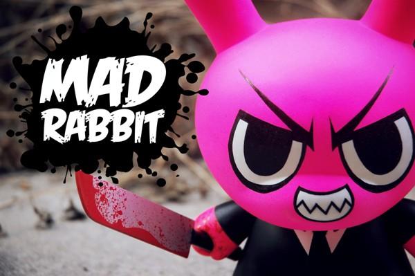Mad Rabbit Dunny 8 Custom Neon Seven