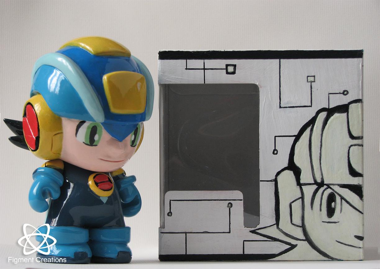 Megaman Nt Warrior with box (19) blog