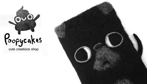Poopycakes Cute Creations Needle Felt Banner