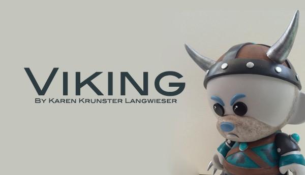Viking-By-Karen-Krunster-Langwieser-Munny-