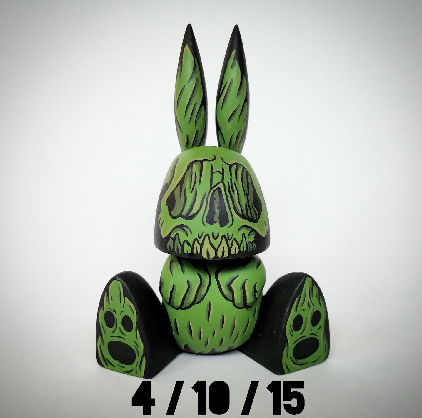 Cat Atomic Atomic Bunnies - Green
