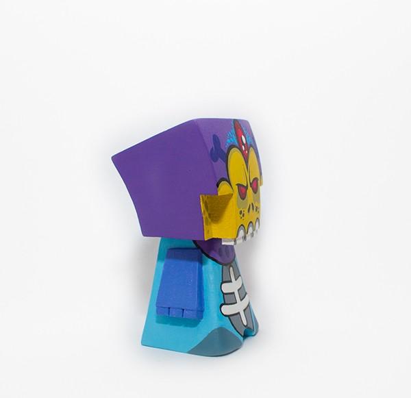 Bohna Skeletor By  WuzOne x Blue-Frog World  side