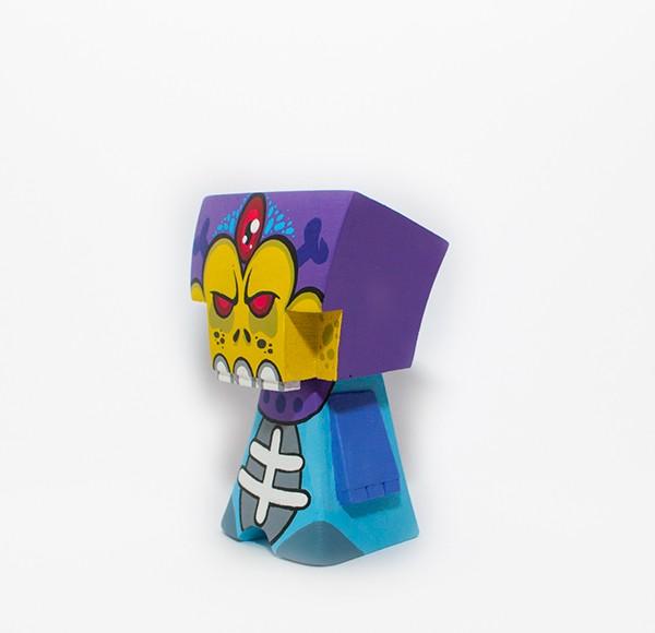Bohna Skeletor By  WuzOne x Blue-Frog World  side 2