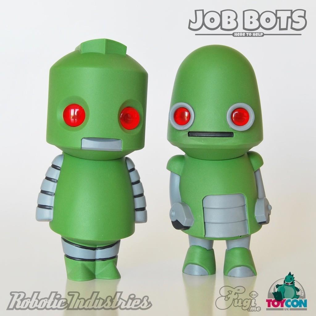 Job Bots Toycon Green