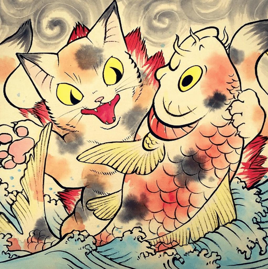 Konatsu_painting_medium