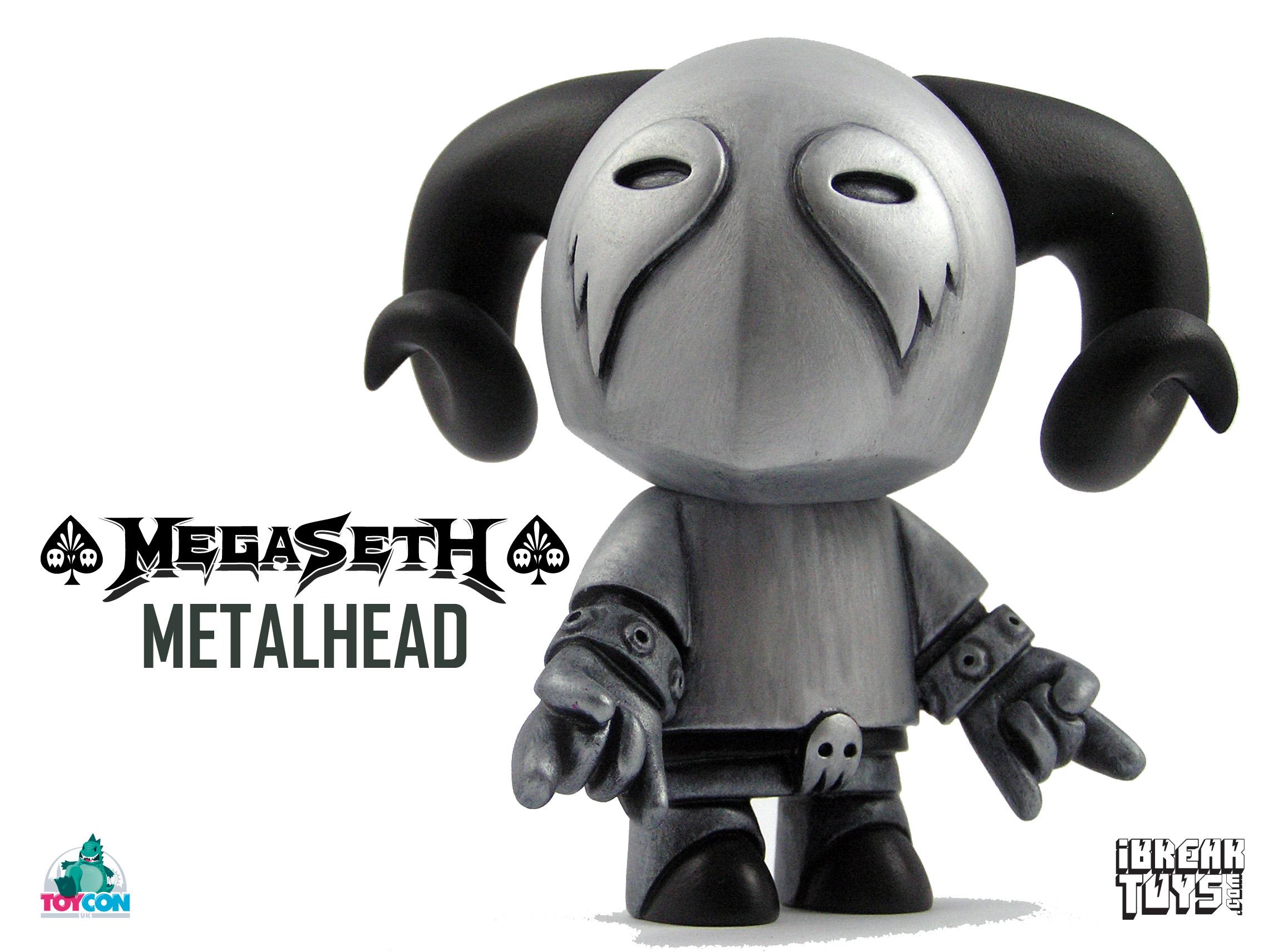 Silver MegaSeth Metalhead