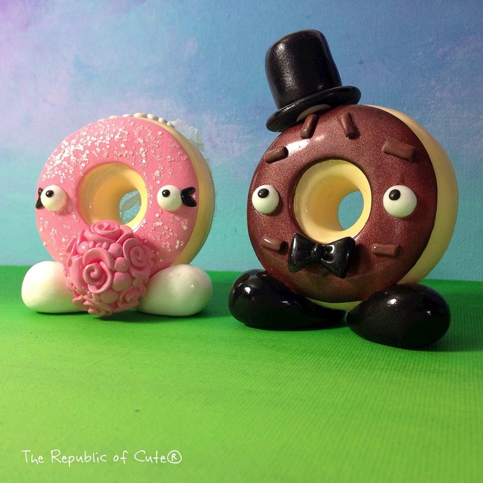 The republic of cute cake topper