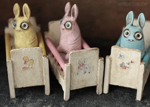 Amanda Louise Spayd Nursery Pipsqueaks 3 crib