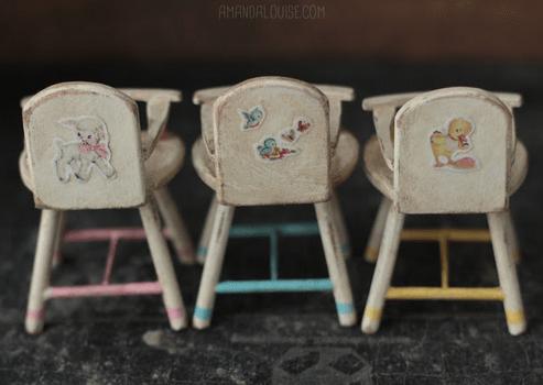 Amanda Louise Spayd Nursery Pipsqueaks high chair
