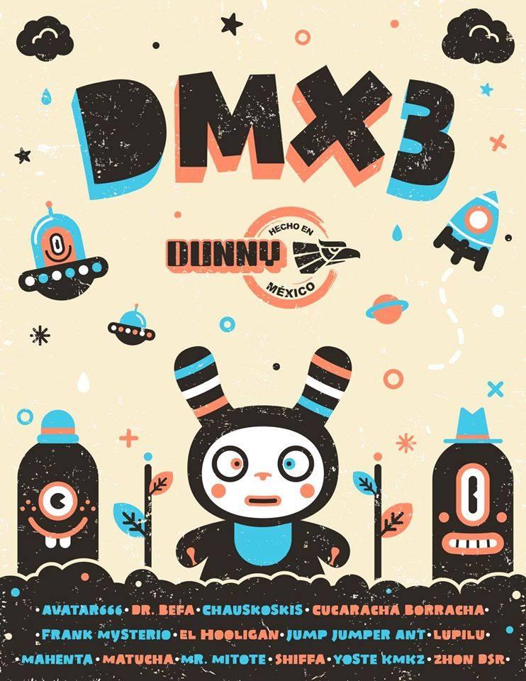 DMX3 Dunny kidrobot lineup