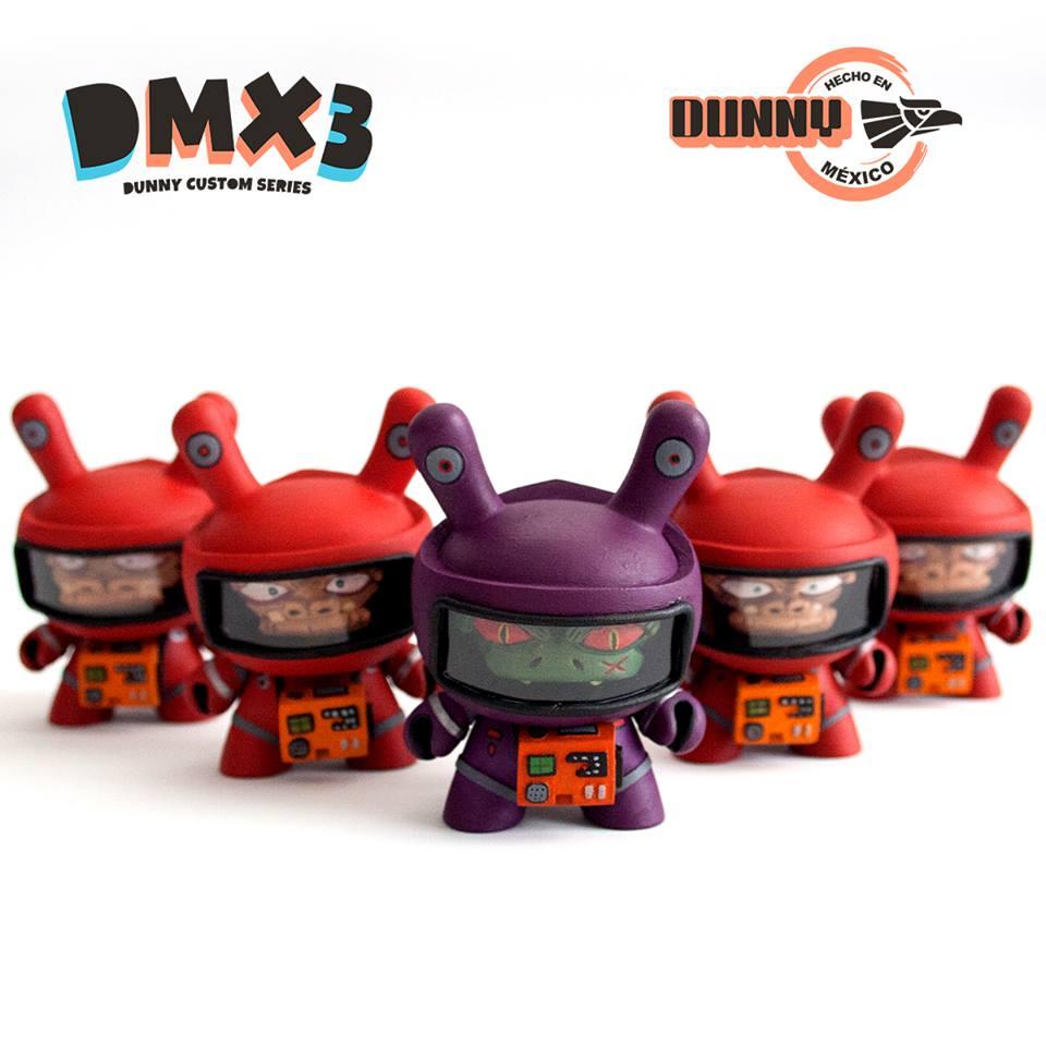 El Hooligan DMX3 Dunny custom series mexico