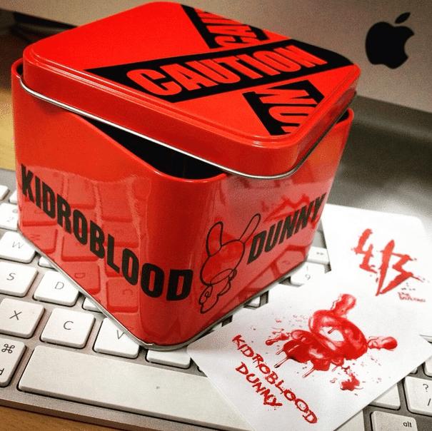 Kidroblood By Erik Boyaxhiu Dunnylicious packaging