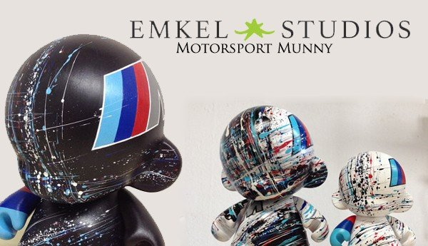 Motorsport Munny By EMKEL Studios