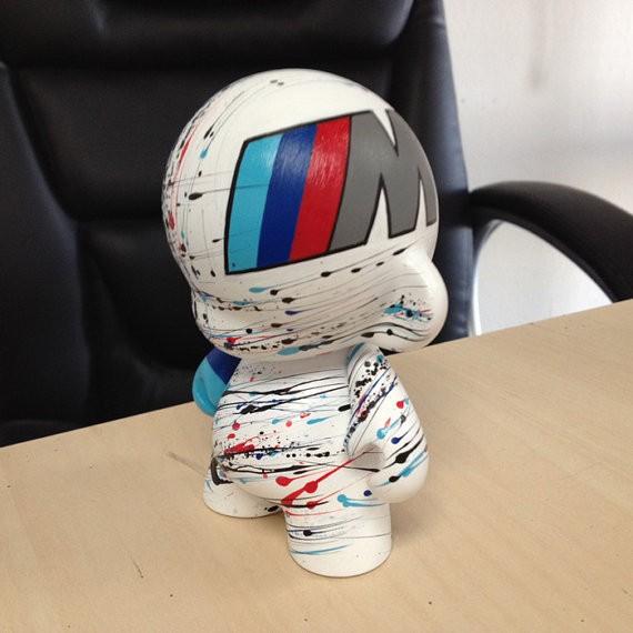 Motorsport Munny By EMKEL Studios 7 inch