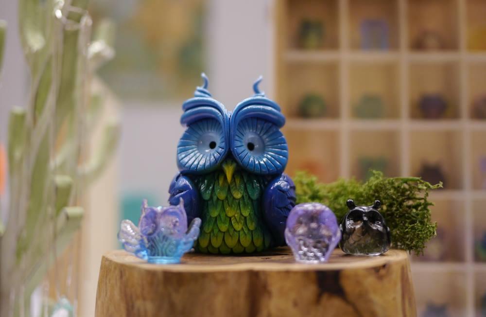 Muju Cosmic Owl  toycon