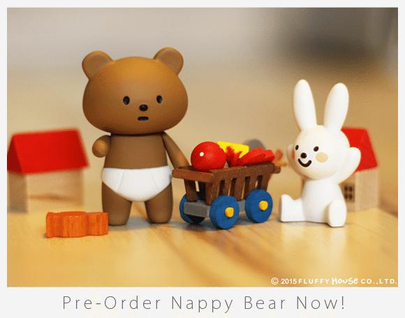 Nappy Bear Fluffy House