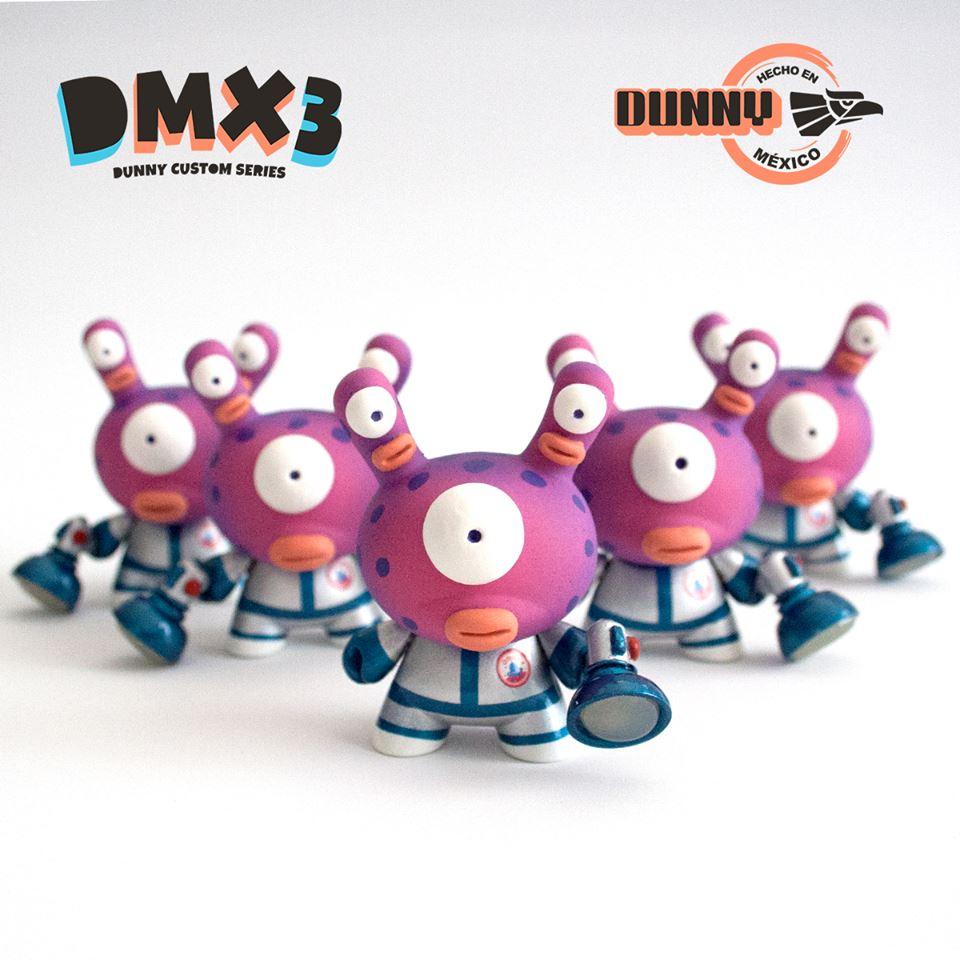 de Shiffa Mexico Dunny Kidrobot DMX3 hecho en
