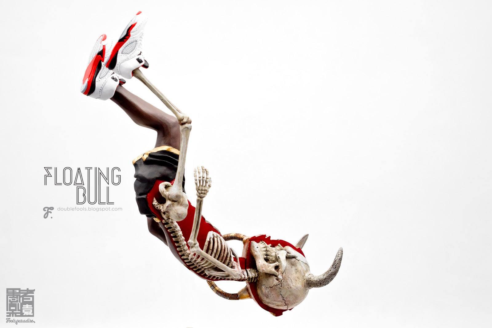 floating bull side