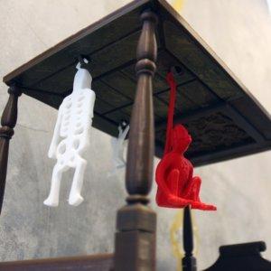 3d hanging monkey