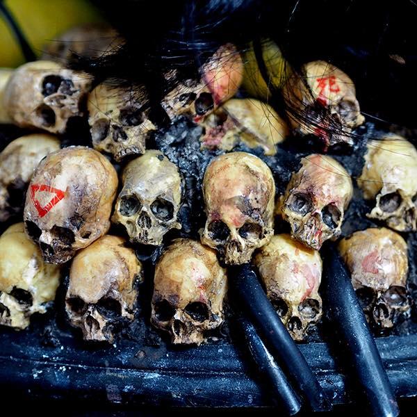 Custom David Flores Deathshead By Tokyo Jesus skulls