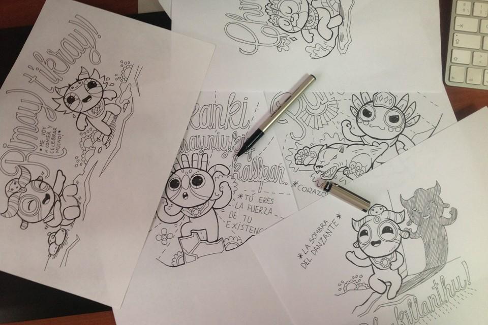 Los Patroncitos By Jumping Lomo drawings