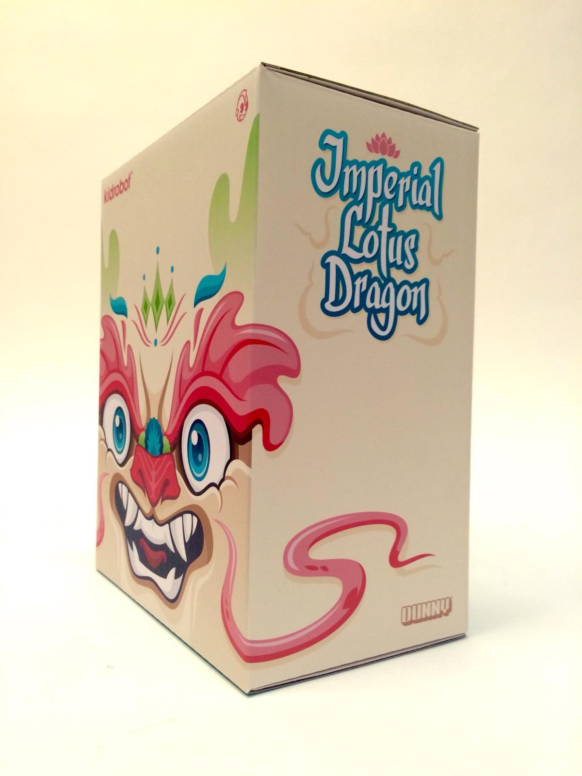 Lotus Dragon By Scott Tolleson x Kidrobot  box art