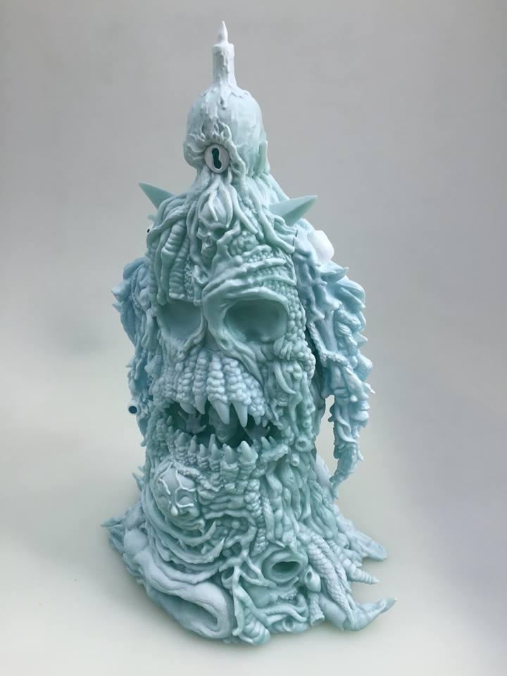 art of Skinner ice blue GID