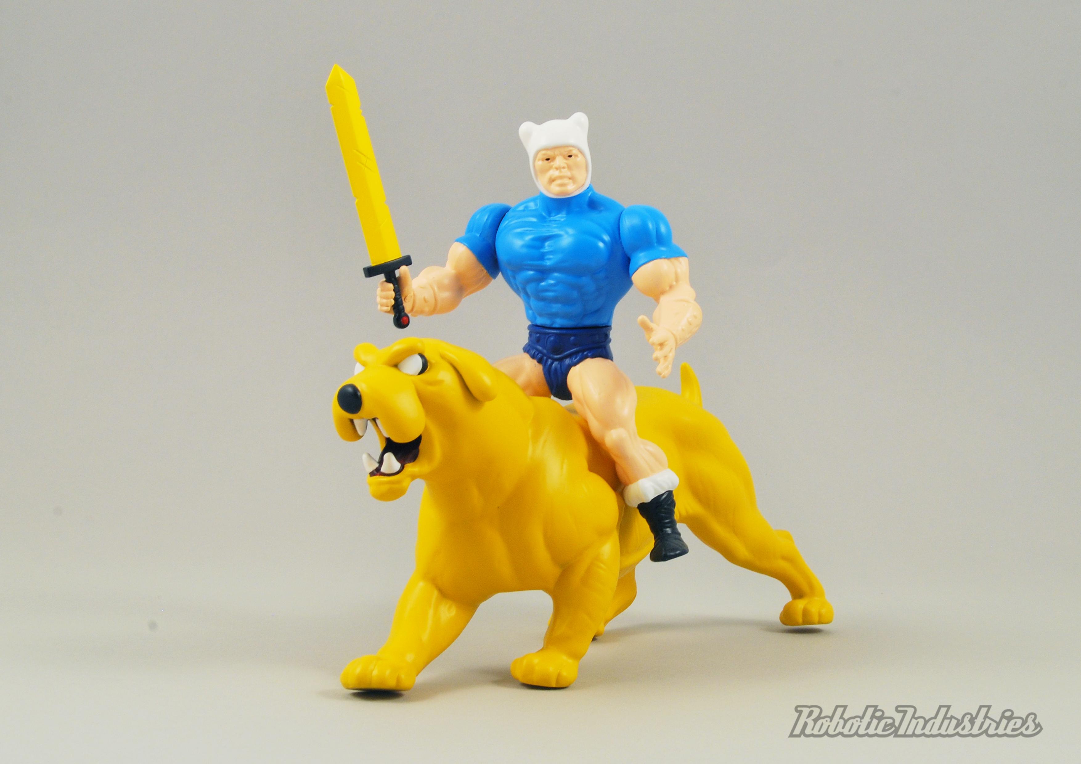 Adventure time Custom MOTU